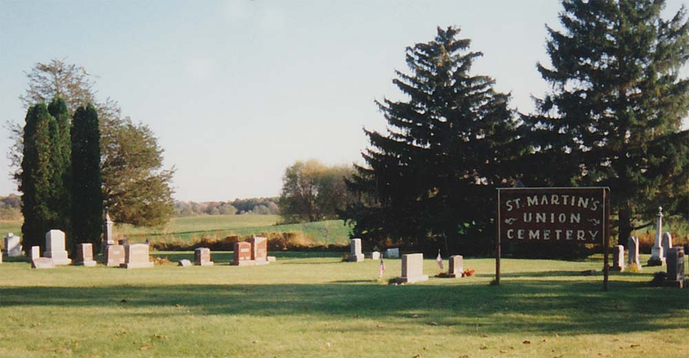 Dt. Martin's Union Cemetery 1997
